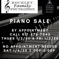 Rockley Family Foundation Piano Sale