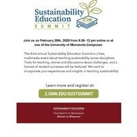 Sustainability Education Summit