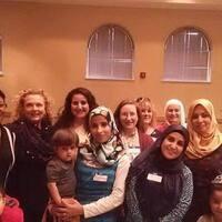 Photo of Muslim and non-Muslim Women and Children