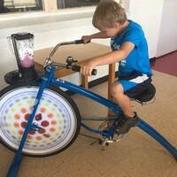 Wellbeing Wednesday - Ride the Blender Bike!