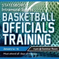 Basketball Officials Training