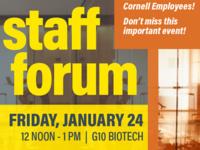 staff forum poster