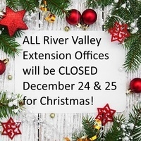 RVED Offices CLOSED for Christmas