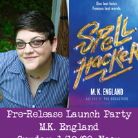 Pre-Release Launch Party for M.K. England!!!