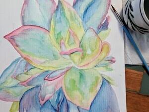 Botanical Watercolor Tutorial
