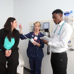 Student Mock Health Exam Photo