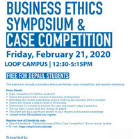 DECA Business Ethics Case Competition