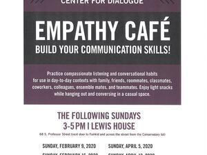Flyer for Empathy Café