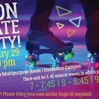 UPB Sboro - Neon Skate Party