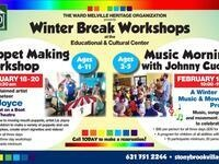 Winter Break Puppet Making Workshop for Kids