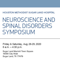 Neuroscience and Spinal Disorders Symposium