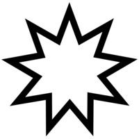 Bahá'í star