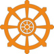 Buddhist Dharma Wheel