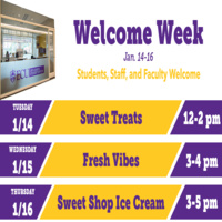 Off-Campus Student Services Welcome Week-Sweet Treats