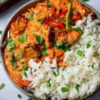 C-Cubed Luncheon - Chicken and Tofu Tikka Masala