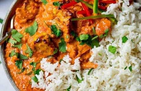 C-Cubed Luncheon - Chicken and Tofu Tikka Masala
