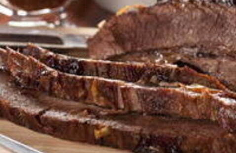C-Cubed Luncheon - Red Wine Braised Beef Brisket with Horseradish Sauce