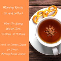 Morning Break: Tea and Cookies with the Office of Admissions