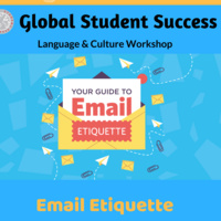 Email Etiquette for International Students