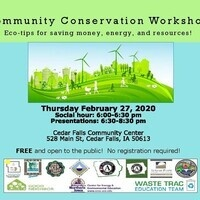 Cedar Valley Community Conservation Workshop
