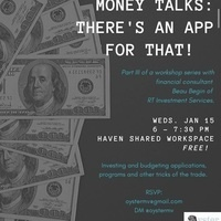 CANCELLED - Money Talks: There's an App for That!