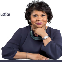 Photo of April Ryan with information about the event listed in description