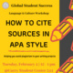 How to Cite Sources in APA Style