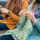 Learn to Knit Workshop at The Family Room