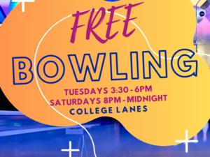 image of bowling lanes