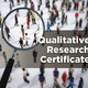 Info Session – Graduate Certificate in  Qualitative Research (CQR)