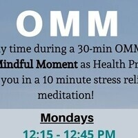 OMM- One Mindful Moment