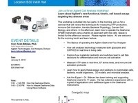 Agilent Seahorse Cell Analysis Flyer