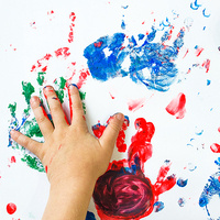 Toddler & Preschool Free Paint