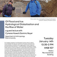 Anthropology & Environment Talk: Hydrological Globalization