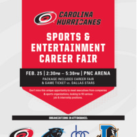 Carolina Hurricanes Sports & Entertainment Career Fair