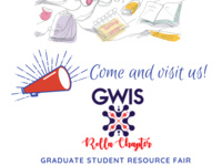 GWIS Rolla Chapter @ Graduate Student Resource Fair.