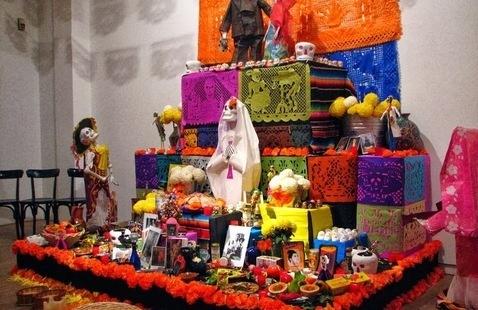Dia de los Muertos Altar Exhibit
