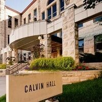 Front Entrance of Calvin Hall