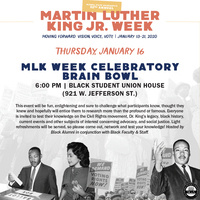 MLK Jr Week | MLK Week Celebratory Brain Bowl