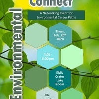 Environmental Connect 2/20/20 4-6pm EMU Crater Lake Room