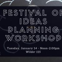Winter Term Festival of Ideas: Presentation Planning Workshop