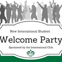 New International Student Welcome Party