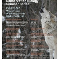 Ecology, Evolution, and Conservation Biology Seminar Schedule for Winter 2020