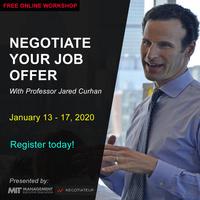 FREE WORKSHOP: Negotiate Your Job Offer