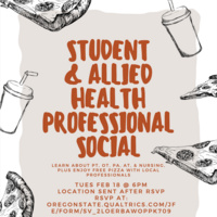 Student/Allied Health Professional Social