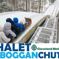 Toboggan Chutes at the Strongsville Chalet Bus Trip