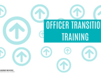 Officer Transition Training (Virtual Event)