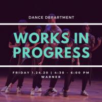 Dance Works in Progress Showing