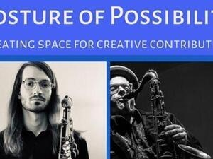 "Derrick Michaels: ""Posture of Possibility"" featuring Liam Hurlbut"