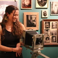 Tintype Photographer, Margaret Muza